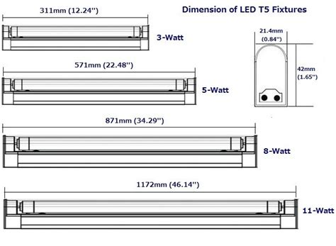 fluorescent light size search detail
