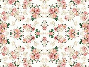 floral wallpaper on Tumblr
