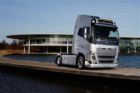 new volvo truck 2016 mclaren partners with volvo trucks pitpass com