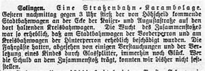 Glassplitter Im Fuß : kreisbahn solingen 1914 1918 ein rheinisches tagebuch ~ Eleganceandgraceweddings.com Haus und Dekorationen