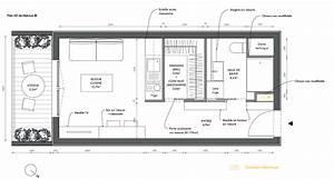 awesome plan amenagement studio 25m2 photos seiunkelus With plan appartement 150 m2