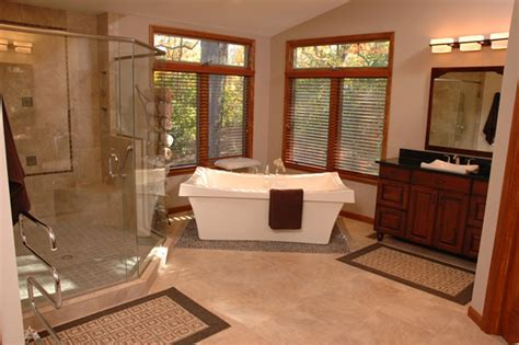 design ideas   luxury master bathroom spa