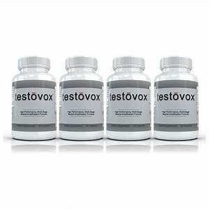 Fast Shipping Supplements  Best Testosterone Booster Supplement  Testovox  4 Bottle