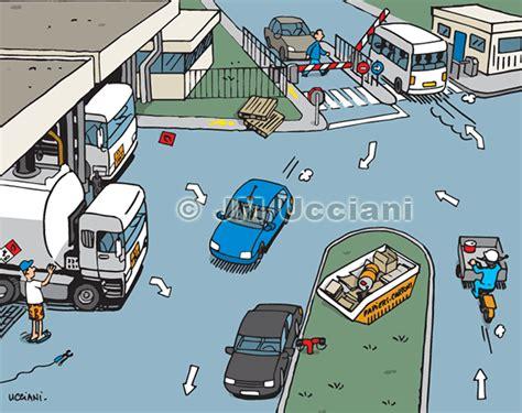 dessin humoristique travail bureau jm ucciani dessinateurcherchez l 39 erreur sécurité route