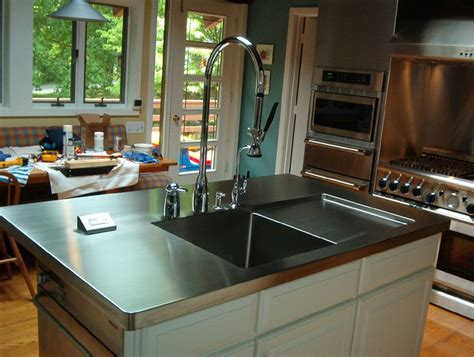 cost of stainless steel countertops cost of stainless steel countertops
