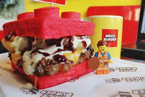 brick cuisine a restaurant in the philippines is serving up lego brick burgers metro