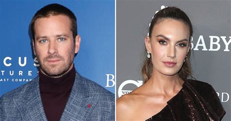 Armie Hammer asks Elizabeth Chambers, his lost wife, to ...