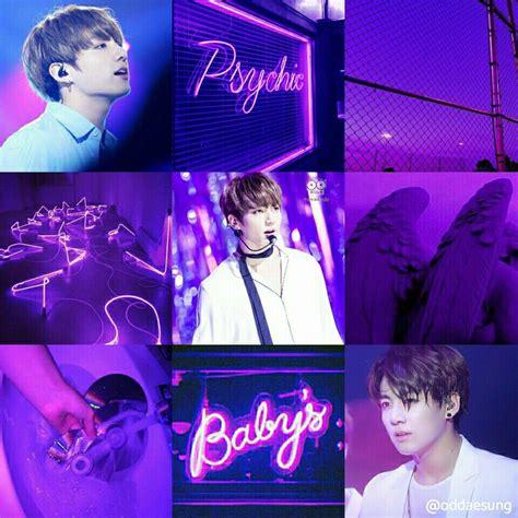 bts jungkook purple aesthetic jungkook aesthetic purple