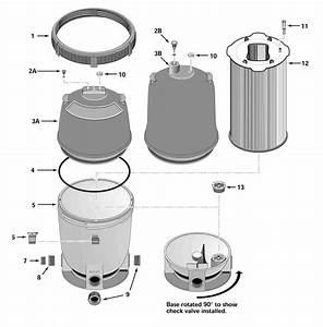 Pentair System 2 Plm Pool Filter Parts