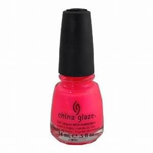 Amazon China Glaze Nail Lacquer 65 oz Pink Voltage