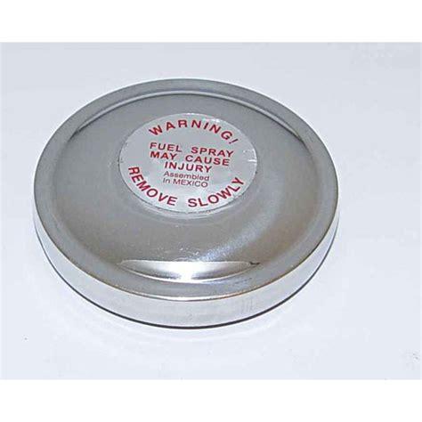 omix   zinc  vented gas cap
