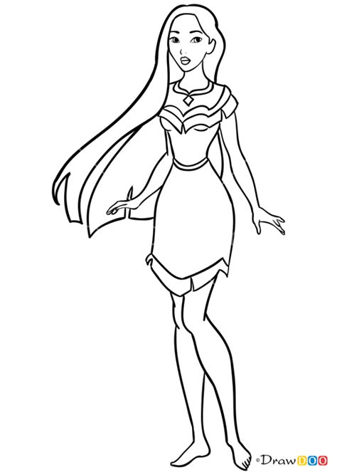 How to Draw Pocahontas, Cinderella
