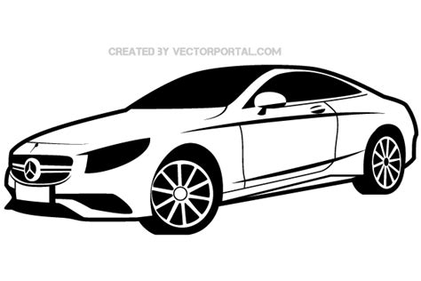 Mercedes Benz Vector Image
