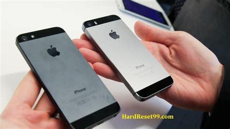 iphone 5s factory reset apple iphone 5s reset factory reset password recovery