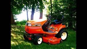 Kubota Tg1860 Diesel Lawn Garden Tractor
