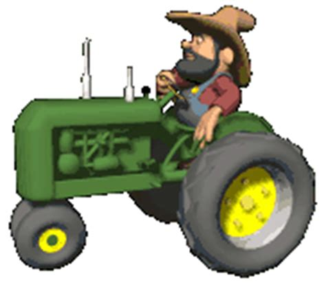 traktor gif gambar animasi animasi bergerak  gratis