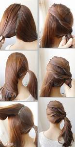 Easy Hairstyles For College Girls Simple Hair Style