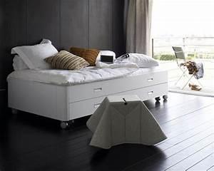 Lit Gain De Place : lit rangement gain de place ~ Premium-room.com Idées de Décoration