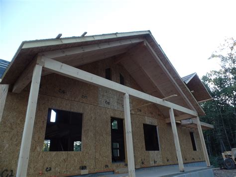 custom post and beam porch construction part 8