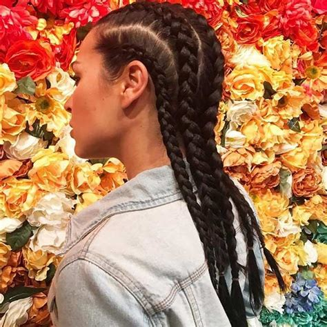 21 trendy braided hairstyles to try this summer cornrows