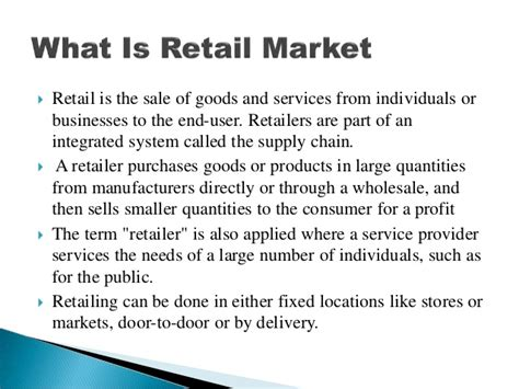 Job opportunities in retail industry in India