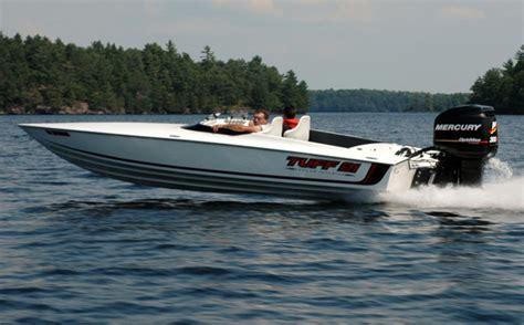 Tuff Boats by Tuff Marine Building 100 Mph Ilmor Powered 21 Footer