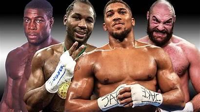 Joshua Anthony Tyson Lewis Lennox Vs Fury