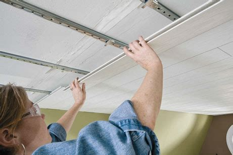 prefinished ceiling planks work equally well as wall