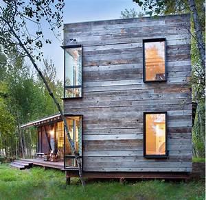 Une Maison En Bois Pr U00e8s D U0026 39 Un Lac