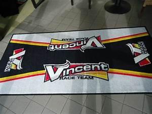 tapis moto personnalise With tapis de garage moto