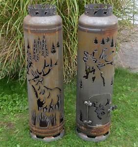 Feuerstelle Aus Gasflasche : holz feuerstelle platzhirsch ~ Whattoseeinmadrid.com Haus und Dekorationen