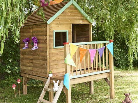 cabane enfant bois cabane enfant bois forest style mod 232 le winny 224 petit prix