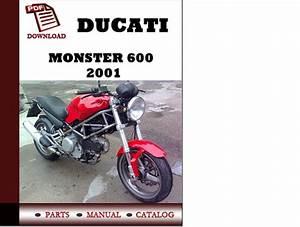 Ducati Monster 600 Parts Manual  Catalogue  2001 Pdf