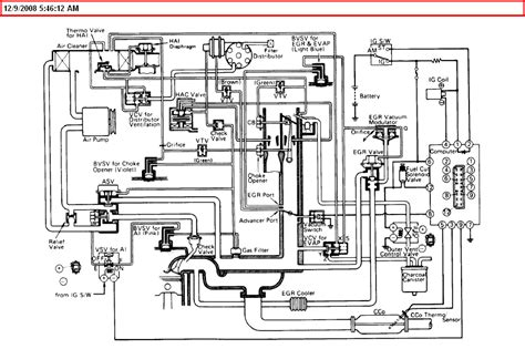 i need a vacuum hose layout diagram the guy who worked on