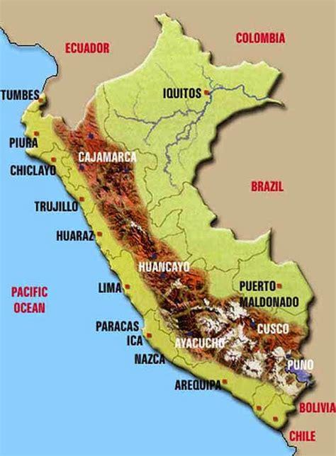 geografia en accion mapas del peru