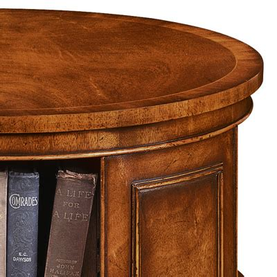 End Table Bookcase by Revolving End Table Bookcase Mahogany Amc235 Robson