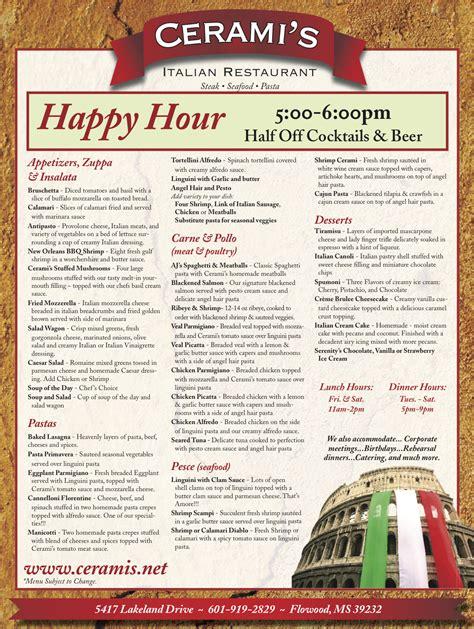 cuisine menu list the gallery for gt food menu list