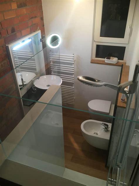 Glasduschrückwand Statt Fliesen In Der Dusche
