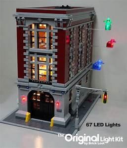 Lego Led Beleuchtung : led beleuchtung kit f r lego ghostbusters feuerwache hauptsitz etsy ~ Orissabook.com Haus und Dekorationen