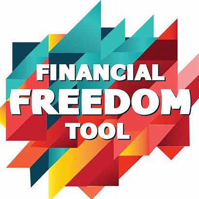 Freedom Financial Tool Text Success Background