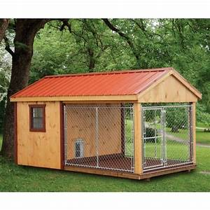17 best images about heated dog kennels on pinterest for Amish dog kennel plans