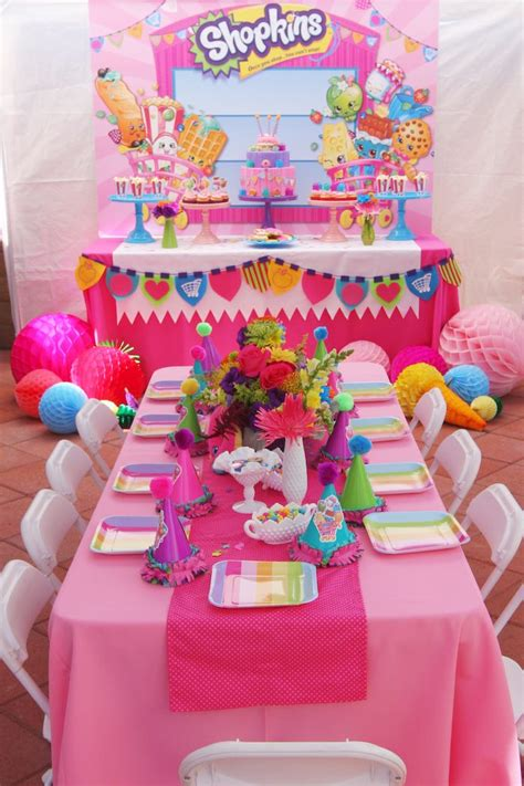 Kara's Party Ideas Shopkins Birthday Party  Kara's Party. Medieval Home Decor. Beige Sofa Living Room. Ethan Allen Dining Room Sets. Western Decor Catalogs