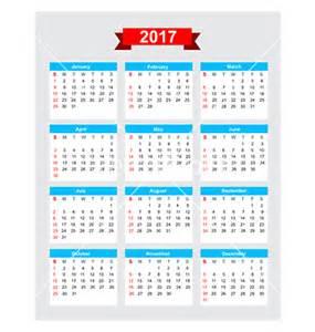Week 2017 Calendar