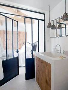 5 façons de séparer la salle de bain dans une suite parentale