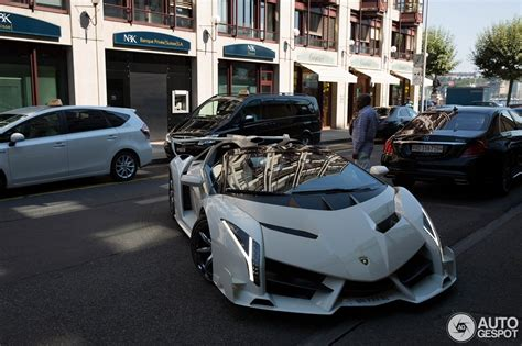 lamborghini veneno roadster  october  autogespot