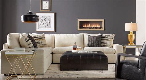 Black, Gray & Ivory Living Rooms