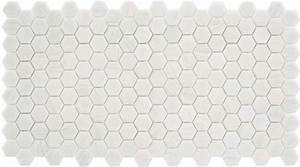 Carrelage Hexagonal Blanc : mosaique trend hexagonal hex 280 bianco assoluto blanc 35 ~ Premium-room.com Idées de Décoration