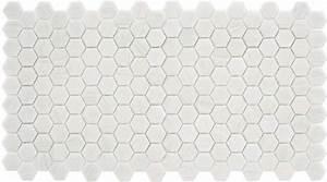 Carrelage Hexagonal Blanc : mosaique trend hexagonal hex 280 bianco assoluto blanc 35 ~ Premium-room.com Idées de Décoration