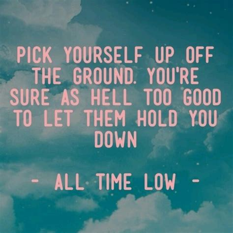 all time low best lyrics quotes
