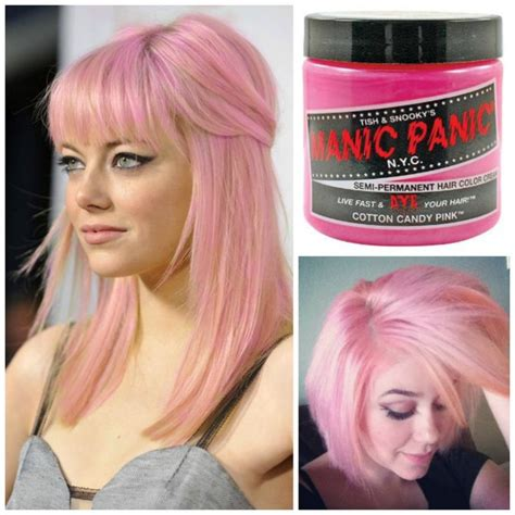semi hair color manic panic glow in the semi permanent hair color in
